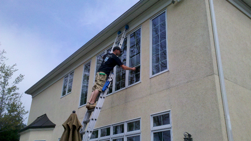 birghter window cleaning residential